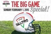 Sbarro Super Bowl Special