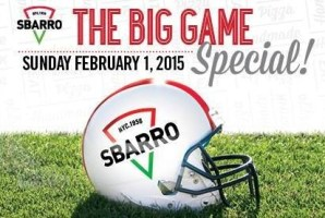 Sbarro Super Bowl Special
