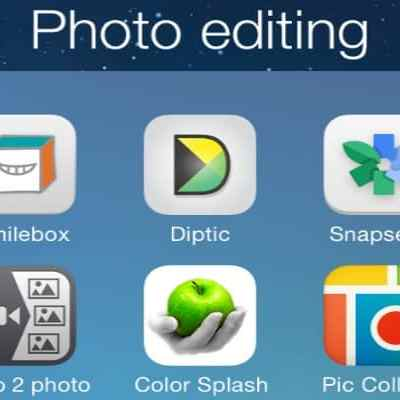 Fun free (or cheap) photo editing apps