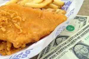Long John Silver's: $1.99 fish and fries