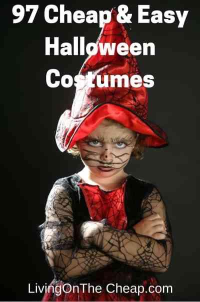 97 Cheap & Easy Halloween Costumes