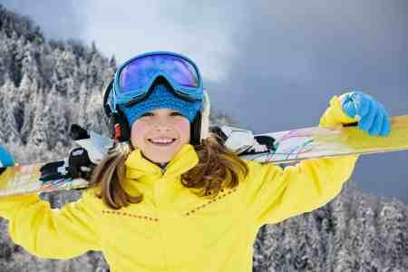 Ski, skier girl