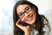 Girl on Smartphone-300x200