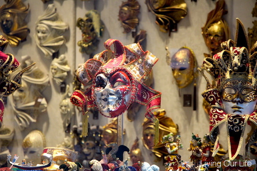 One of the many stores with masks