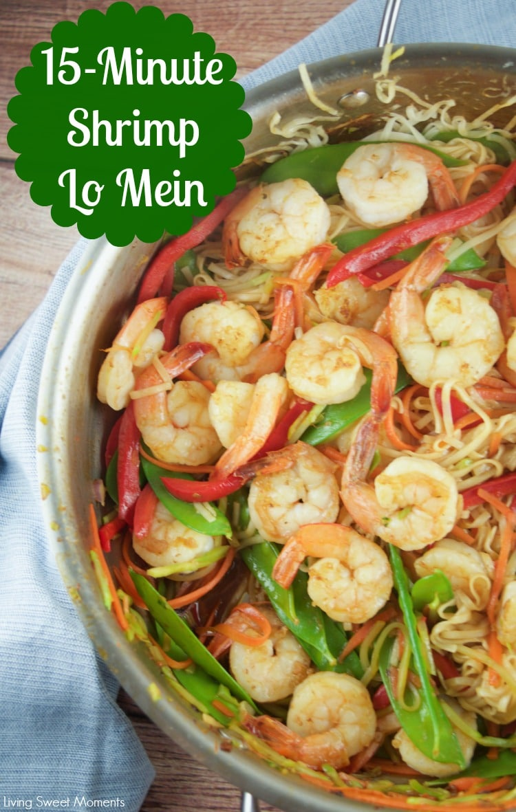 Large Of Shrimp Lo Mein