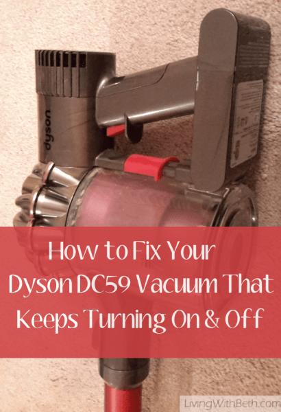 Dyson vacuum pulsing