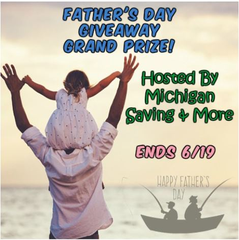 Father's Day Grand Prize Giveaway Ends 6/19