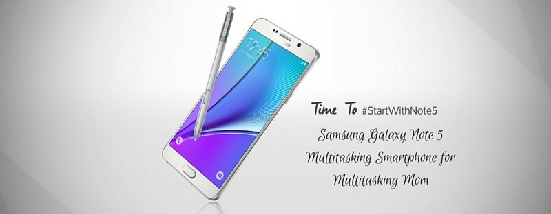 Samsung Galaxy Note 5Multitasking Smartphone