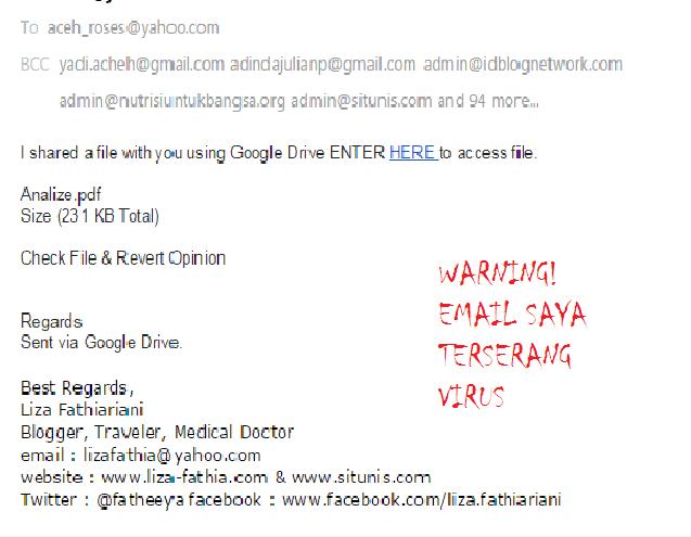 EMAIL BERVIRUS