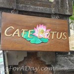 Lotus Blossom Ubud Cafe Lotus