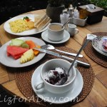 Relaxing Ubud Breakfast