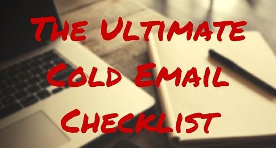 The-Ultimate-Cold-Email-Checklist-560x300