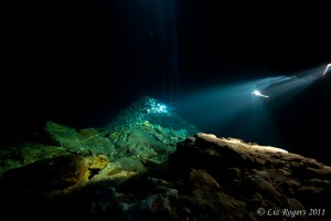 Long exposure in the Shaft