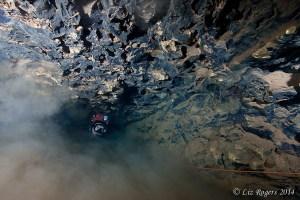 Diving the end of Elk River