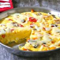Roasted Pepper Frittata