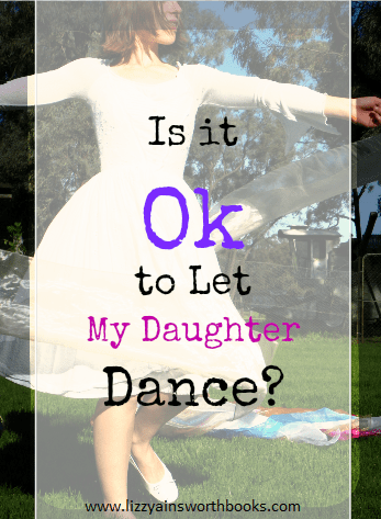 Our daughters love to dance, it's the way God made them; here are some Biblical foundations for how to train them in this