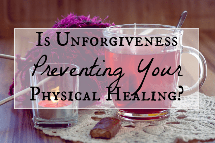 unforgiveness prevents healing fb