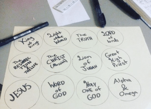 Names of Jesus Circles