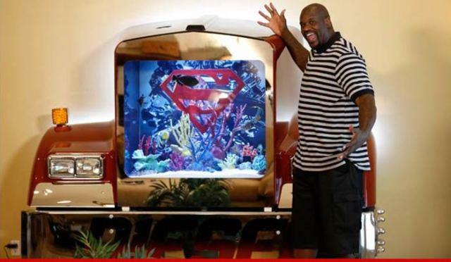Neal ? Even My Fish Are Diesel  Shows Off ?Super? Aquarium