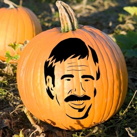 carving of Chuck Norris