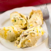 Philly Cheese Steak Stuffed Shells