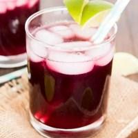 Grape Lime Rickey (Mocktail)