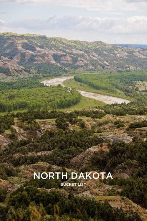 Medium Of North Dakota Landscape