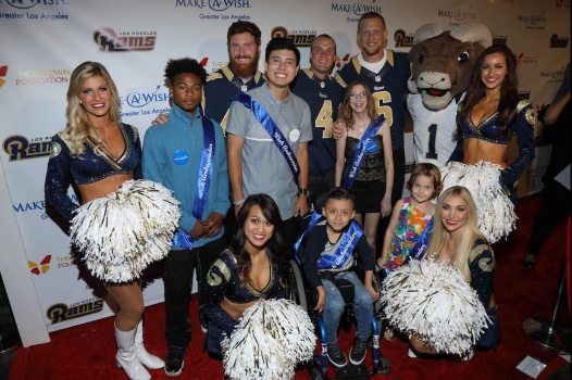 LA Rams Make-A-Wish Event
