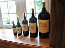 La MIssion Haut Brion Le Clarence wine bottles jerobaum photo by Paige Donner copyright 2017 IMG_2540