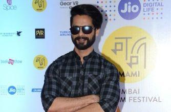 Shahid Kapoor at Jio MAMI 18th Mumbai Film Festival