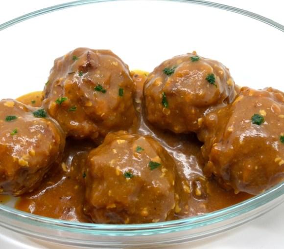 Boulets liégeois sauce lapin