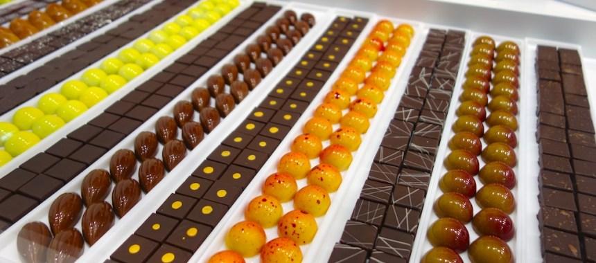 Le salon du chocolat en avant-première
