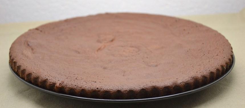 Gâteau au chocolat et noisette, sans farine