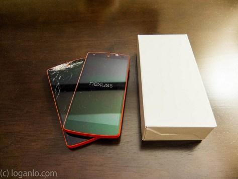 Google Red Nexus 5 replacement