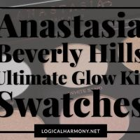 Anastasia Beverly Hills Ultimate Glow Kit Swatches