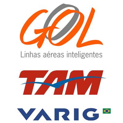 logos empresas aereas: