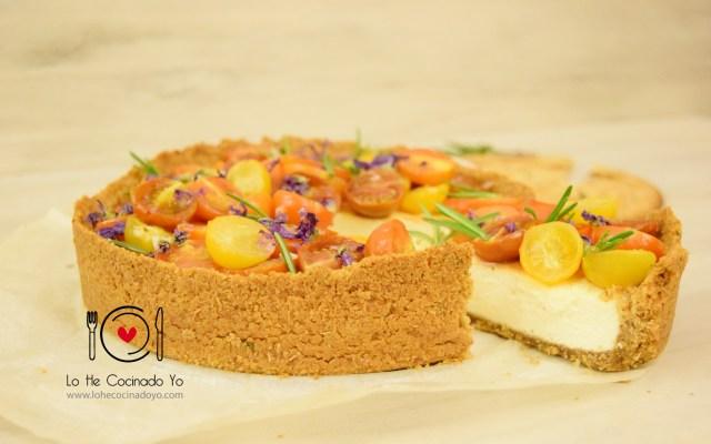 Cheesecake Salado con Tortas de Inés Rosales