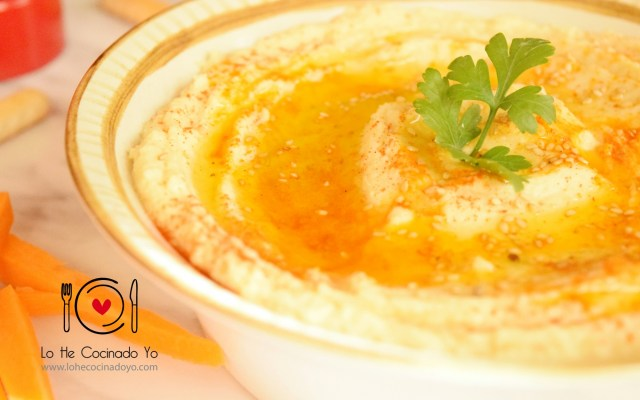 Cómo hacer Hummus sin Tahini o Tahina
