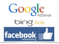 Bing ads, Facebook advertising ou adsense?