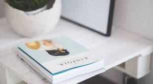 Designer and books