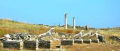 Como explorar o melhor das ilhas gregas: um dia em Delos