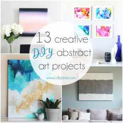 State Sunsets Abstract Wall Art Paintings Diy Abstract Wall Art Projects Diy Abstract Wall Art Projects Lolly Jane Abstract Wall Art