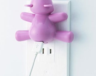 Kawaii Bear iPod Charger