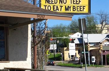 Need No Teef To Eat My Beef