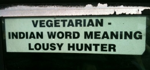 Vegetarian - Indian Word