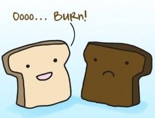 Oooo Burn!