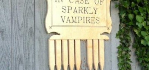 Get your sparkly vampire protection.