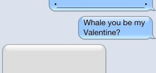 Whale you be my valentine?