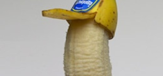 A banana with a hat. How awesome is that?!