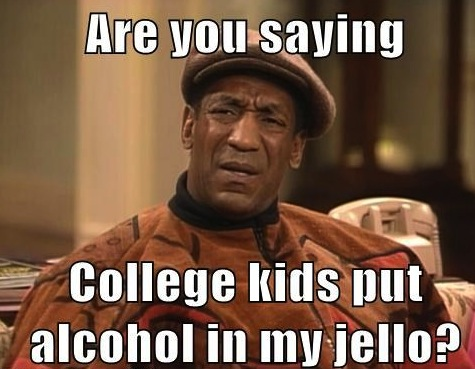 Bill Cosby Confused